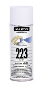 Spraypaint 100 Painters white 223 400ml RAL9003