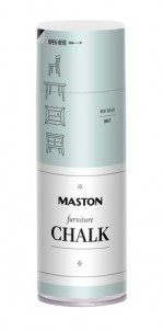 Spraypaint Furniture Chalk Mint Green 400ml