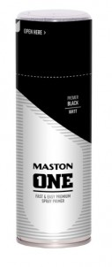Spraypaint ONE - Primer Black 400ml