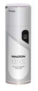Spraypaint ONE - Silver 400ml