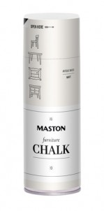 Spraymaali Furniture Chalk Antiikinvalkoinen 400ml