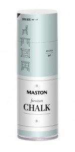 Spraymaali Furniture Chalk Mintunvihreä 400ml