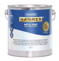 Base Hammer Smooth Clear 2,7l