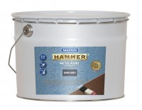 Paint Hammer Hammered Dark Grey 10l